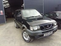 breaking black nissan terrano sport 4x4 turbo diesel 4x4 parts spares repairs