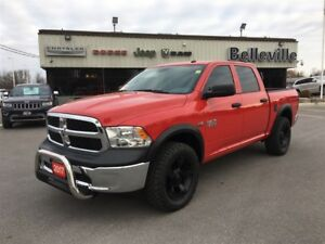 2017 Ram 1500 ST-Performance Package-Truck is Lifted With Bigger