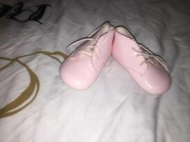 Baby girl shoes 0-6 months