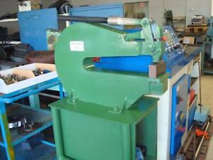 Whitney Single Station C Frame Punch Press