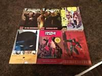 Graphic Novel / Comics ... Punisher, Watchmen, Batman, Hellboy, Superman