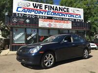 2006 Infiniti G35 Luxury  AWD ONE OWNER MUST SEE!!