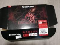 PowerColor Red Dragon V2 AMD Radeon RX 580 4GB Gaming graphics card