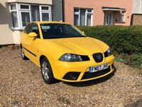 Seat Ibiza, 1.2, Sport, Yellow, Part Service History, Really clean and looked after