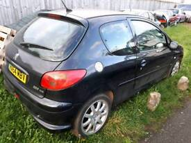 Peugeot 206 1.6hdi gti breaking parts only