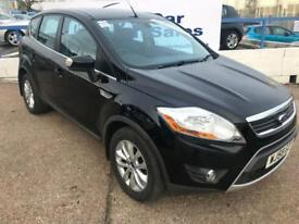 FORD KUGA 2.0 TITANIUM TDCI AWD 5d 134 BHP A GREAT EXAMPLE INSIDE AND OUT (black) 2008