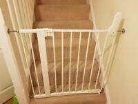 Babydan full metals staircase gate - no nails