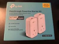 Passthrough Powerline Starter Kit (TL-PA8010P KIT)