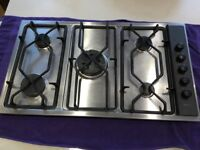 Used stainless steel 5 ring AEG Gas Hob