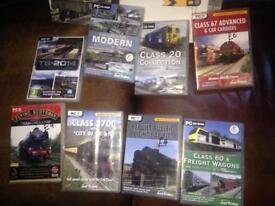Train Memorabilia. DVDs and Books. Leeds 9.
