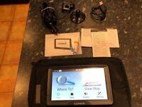 Garmin Camper 760LTM portable GPS SAT NAV Great for Camping and Caravaners
