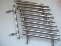 Ikea Kitchen cupboard handles - solid chrome