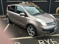 Nissan Note 1.6 16v SVE 5dr Automatic Gold 2007