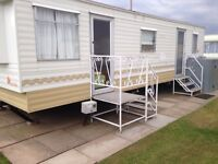 Caravan to rent skegness 6 Berth