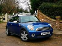 2007 MINI Cooper 1.6 Hatch 3dr,FULL SERVICE HISTORY, 12 MONTHS MOT, HALF LEATHER SEATS, BLUETOOTH