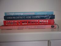 Four Cookery Books in excellent condition