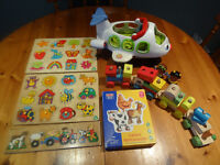 Selection of pre-school toys