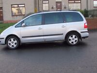 Ford Galaxy Ghia, with Towbar, Six Gears, Very reliable with built in Child Seats