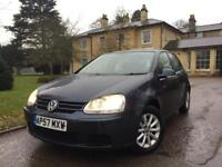 2007 57 Volkswagen Golf 1.6 FSI MATCH+0 PREVIOUS OWNERS+PX+SWAP