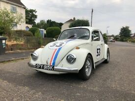 VW Beetle 1972 Herbie Replica