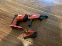 Hilti collated screw gun