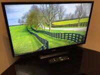"Sharp 32"" FHD LED Freeview Tv - 50Hz - USB Playback - UltraSlim - DTS - 4 HDMI - - Bargain RRP £299"