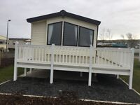 Wilbury Salsa Eco Deluxe 3 Bedroom Caravan at Kintyre View 2 min walk to beach with Sea Views