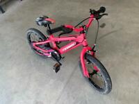 16 Inch Team Pink GX-16 Bike
