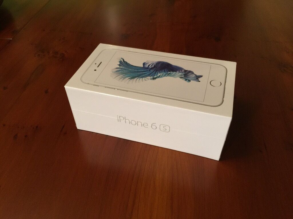 iPhone 6s Silver Brand New Sealed with receiptin Kennington, LondonGumtree - Hello, I am selling my iPhone 6s Silver sealed in its box with receipt. Its from my upgrade which I do not need. The upgrade was from EE. I am not interested in swap with something else. Please text me if you are interested. Kindly no time wasters...