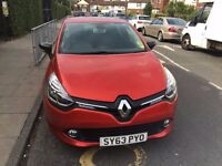 RENAULT CLIO 2013 WITH VERY LOW MILES ONLY 8K TUCH SCREEN SATNAV MANUFACTURE WARRANTY KEY LESS ENTRY