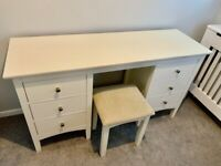 M&S Hastings Ivy chest of drawers/dressing table and stool