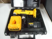 HERE FOR SALE IS DEWALT 18V ANGLE DRILL DRIVER - DW960