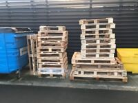 Real wood & composite Pallets - Free