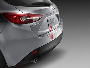 2014 -2018 Mazda 3 (5-door) Factory OEM Mazda Rear Bumper Guard 00008TL32