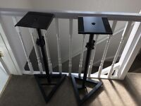 Studio monitor stands