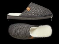 Mens Mule Slippers Sizes 7 To 12