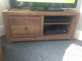 Next chiltern tv unit and side table