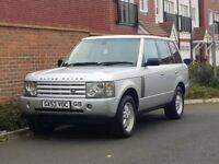 Land Rover Range Rover TD6 Vogue Auto (2003/53 Reg) + 93K + FSH + SAT NAV/TV + XENONS + HIGH SPEC +