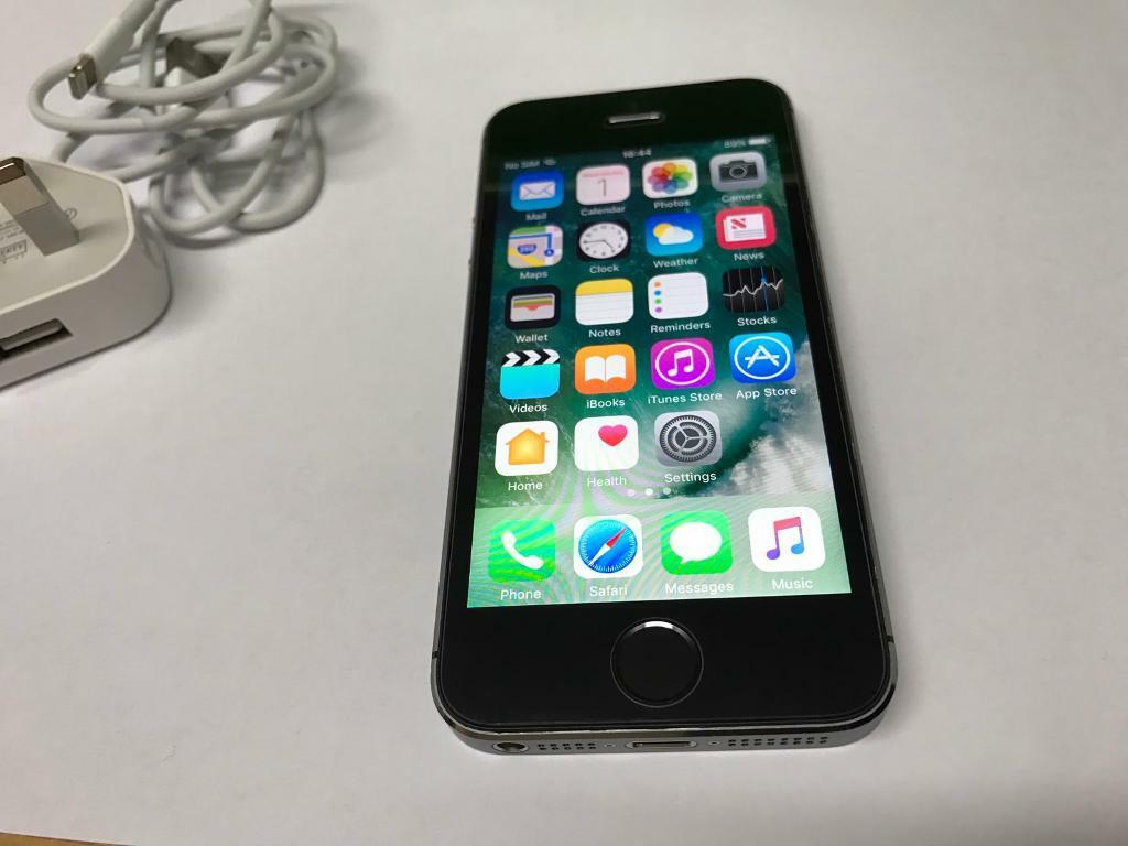 Iphone 5s Black 16gb On EE Mint Condition125in Seven Sisters, LondonGumtree - Iphone 5s Black 16gbFactory unlocked Works with any sim cardExcellent Condition Comes with charger and usb cable Fully working Good clean phoneSmoke free owneriCloud removed so you can activate the phone with your own details Price £125Serious...
