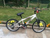 "KIDS BOYS CHILDREN FREERIDE LOADED 18"" WHEEL 11"" FRAME 6 SPEED BIKE BICYCLE"