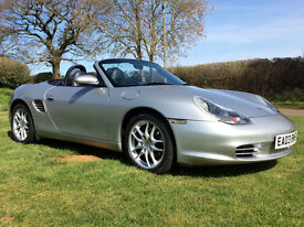 2003 Porsche Boxster 2.7 Facelift model - Immaculate and low mileage