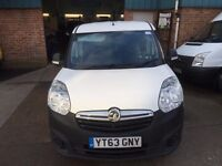 NEW SHAPE VAUXHALL COMBO VAN 1.3CDTI 2013/63REG 3 MONTH WARRANTY £3999 NO VAT