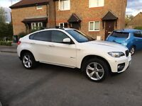 BMW X6 30D X Drive , White, LOW MILEAGE , High specs , 2011, 2 owners