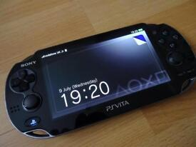 Ps vita oled with Assasins creed and 16gb memory card