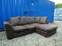 Brown Corner Sofa *Excellent Clean Condition*