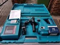 Makita hammer drill cordless 24 volt