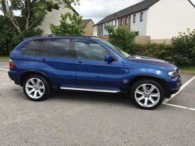 BMW X5 3.0d Le Mans Blue Sport Exclusive