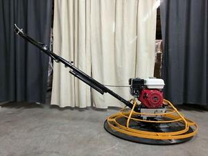 HOC - 24 36 INCH POWER TROWEL GX200 6.5 HP + FREE BLADES & FLOAT PAN + 2 YEAR WARRANTY + FREE SHIPPING CANADA WIDE
