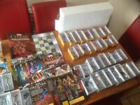 Marvel heroes chess set by eaglemoss boxed perfect con includes board and table full set & extras