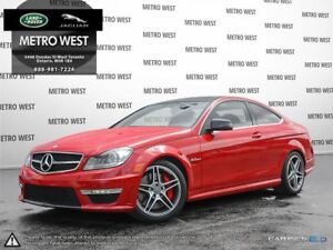2013 Mercedes-Benz C-Class C 63 AMG - PERFORMANCE PKG, NAVI, PAN
